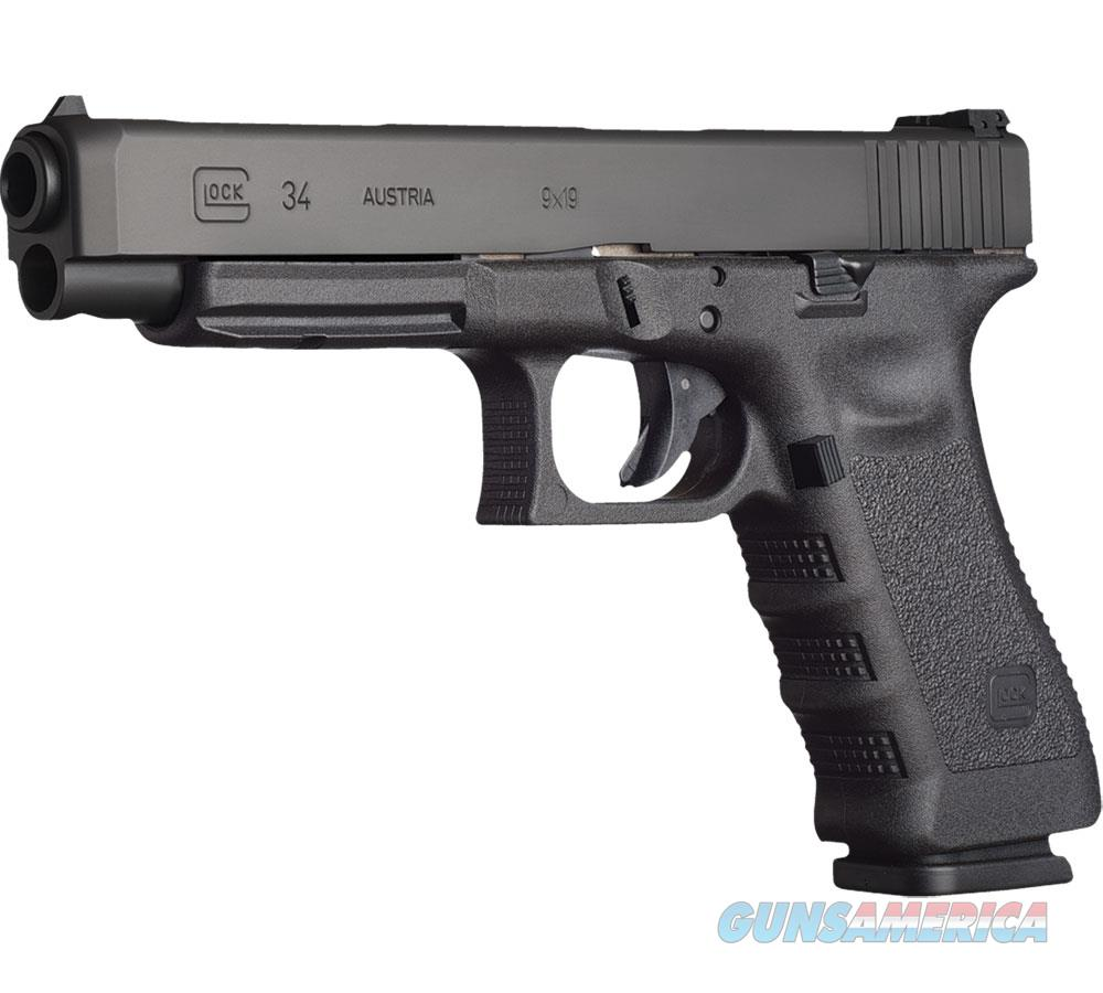 Glock G34 9Mm Cmpet A/S 10Rd PI3430101  Guns > Pistols > G Misc Pistols