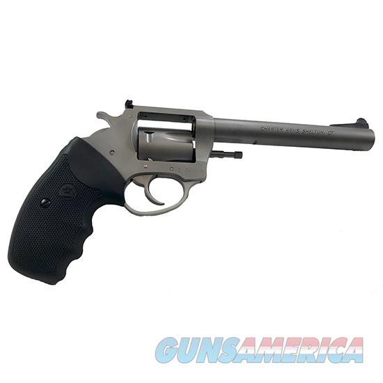 Charter Arms Target Bulldog 357Mag 6 Ss As Full Grip 5Rd 73560  Guns > Pistols > C Misc Pistols