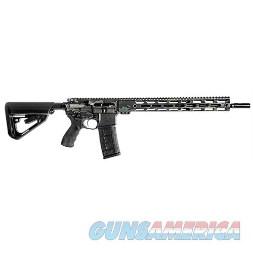 "Bci 501-001Mcb Sqs15 Professional Series Semi-Automatic 223 Remington/5.56 Nato 16"" 30+1 6-Position Blk Stk Multicam Blk/Blk 501-001MCB  Guns > Rifles > B Misc Rifles"