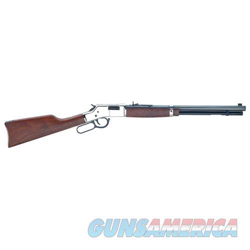 "Henry Big Boy Silver .38/.357 20"" Octagon Walnut H006MS  Guns > Rifles > H Misc Rifles"