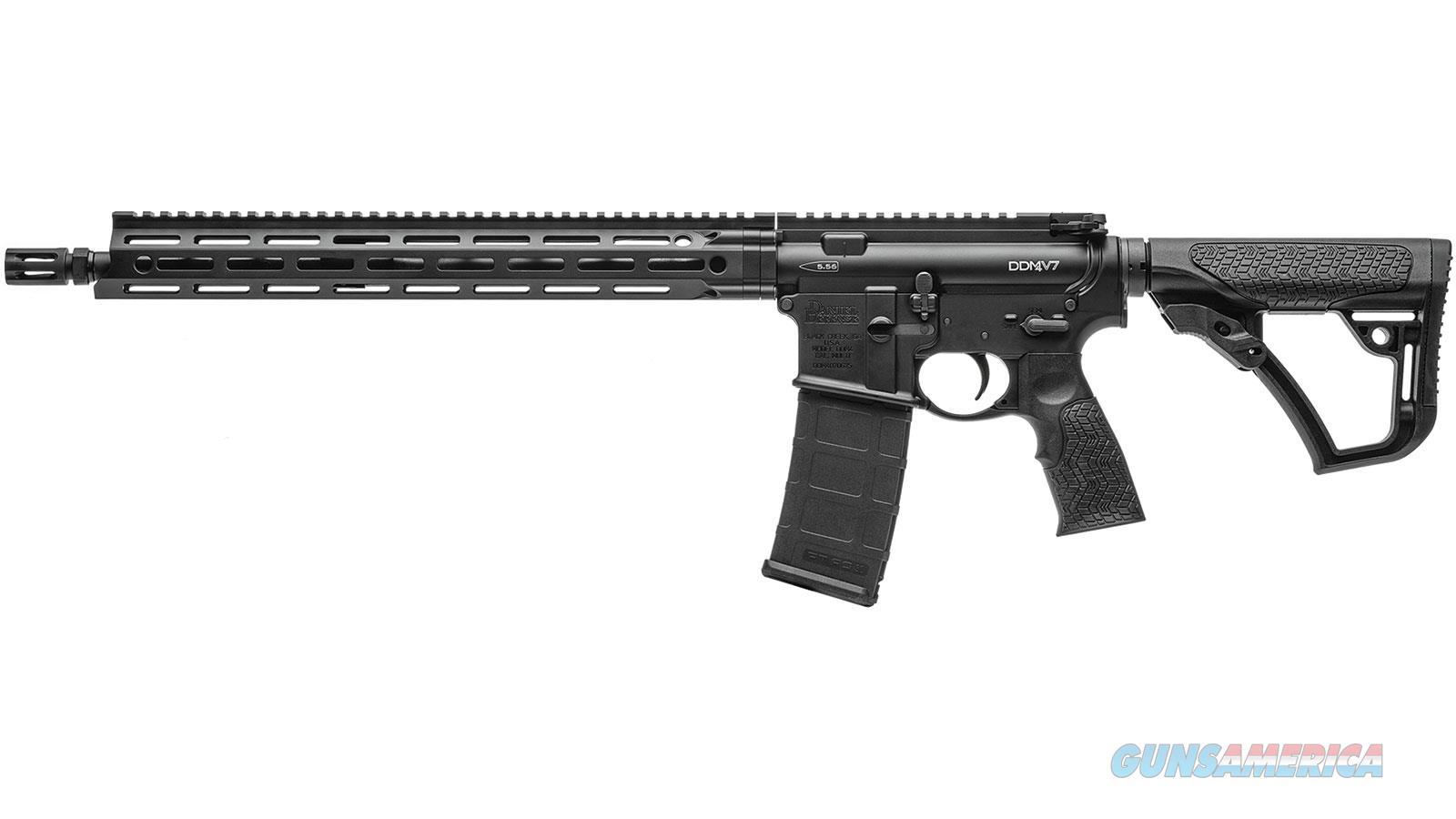 """Daniel Defense Ddm4v7 5.56 16"""" 30Rd 02-128-02081-047  Guns > Rifles > D Misc Rifles"""