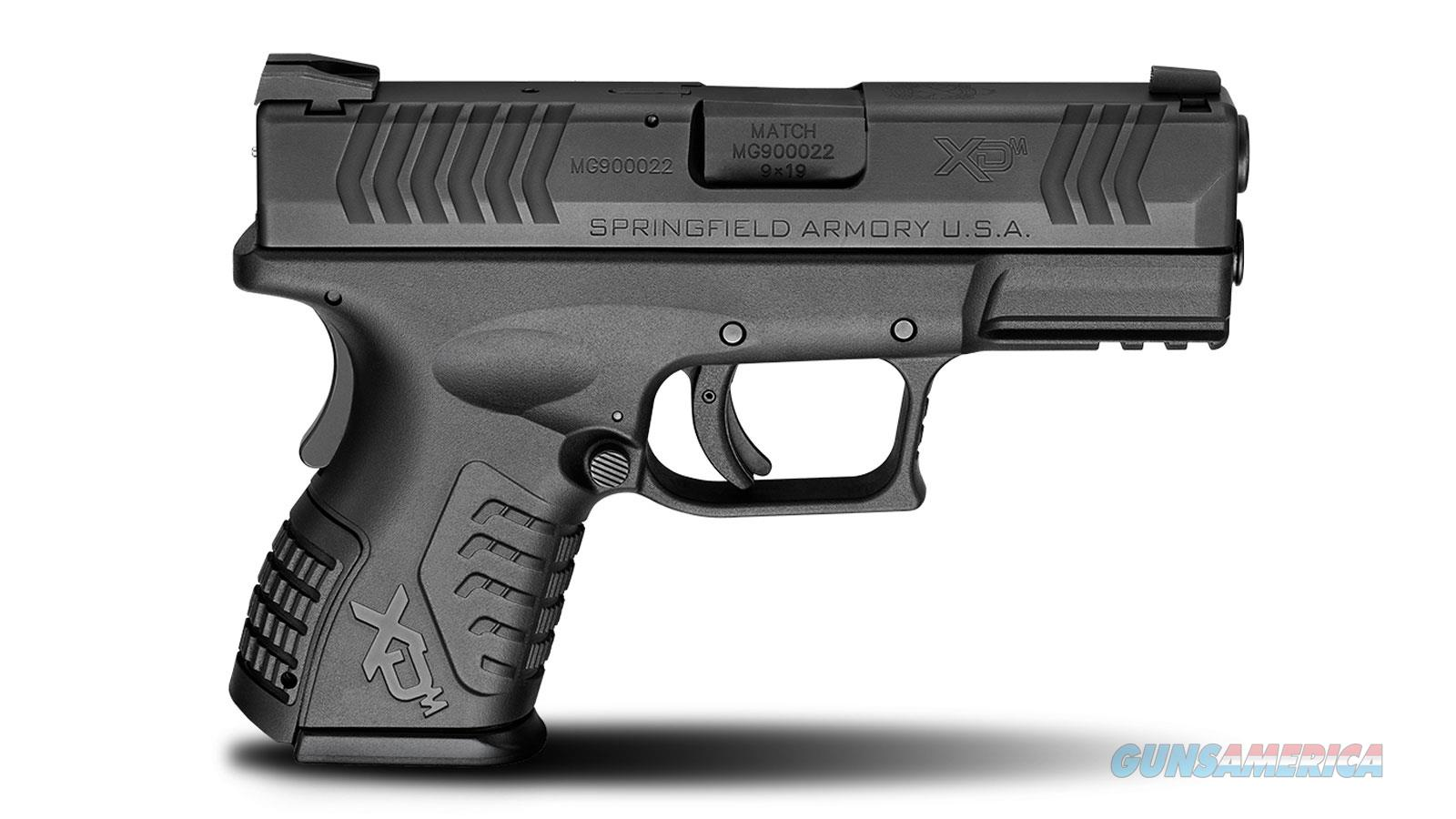 "SPRINGFIELD ARMORY XDM COMPACT 9MM 3.8"" 19RD XDM9389CBHCE  Guns > Pistols > Springfield Armory Pistols > XD-M"