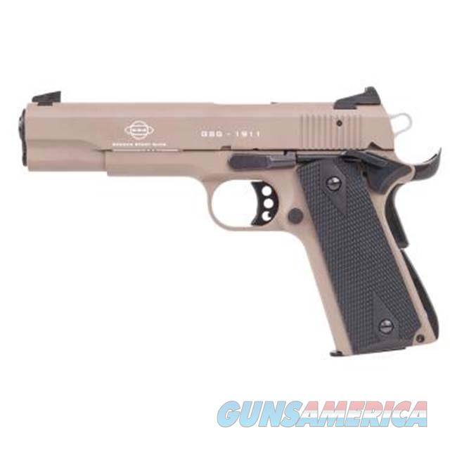 American Tactical Gsg 1911 22Lr 5 Blued Wood Grip Tan 10Rd GERG2210M1911T  Guns > Pistols > A Misc Pistols