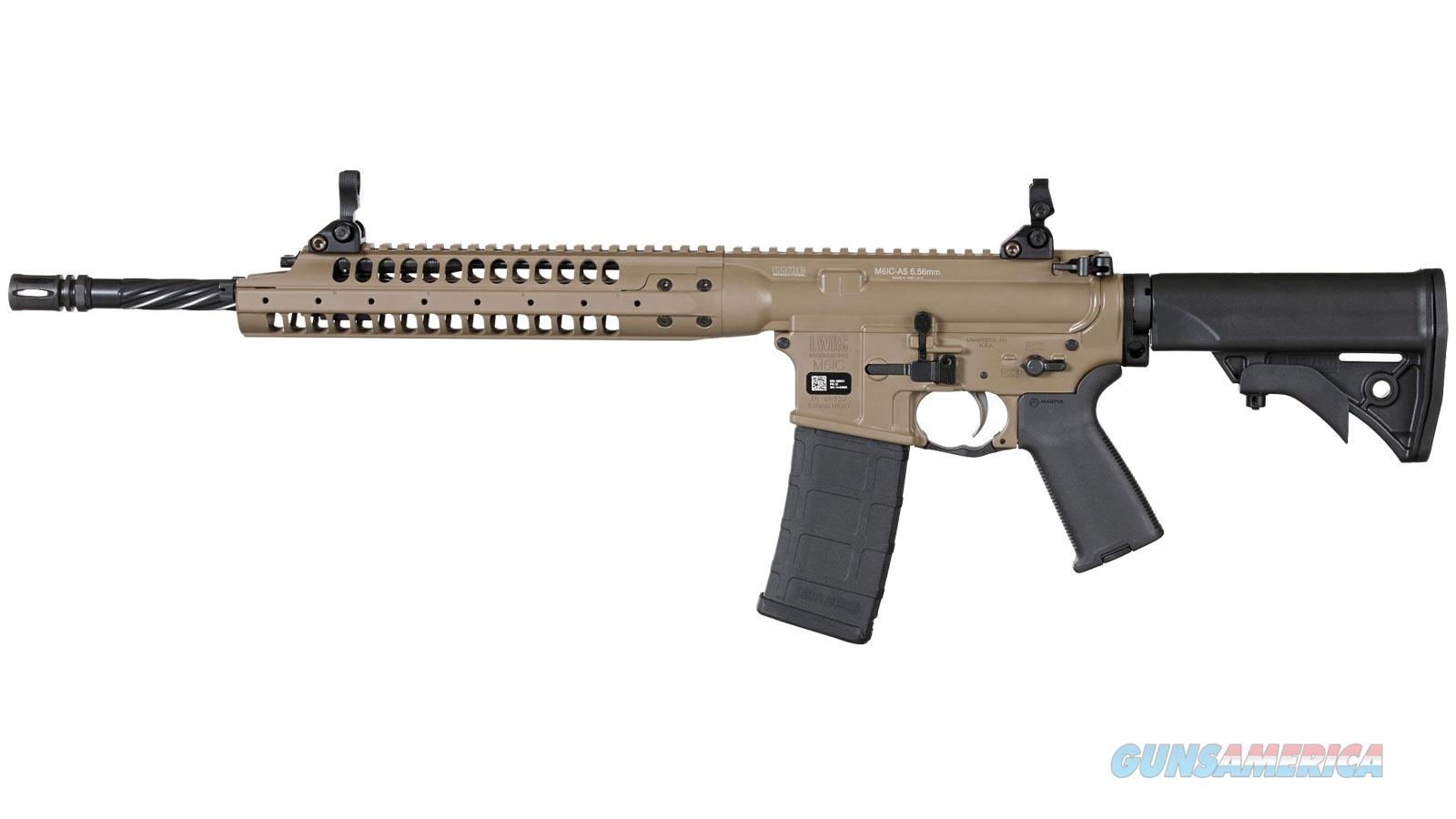 "Lwrc Ic A5 5.56 16"" Fde ICA5R5CK16  Guns > Rifles > L Misc Rifles"