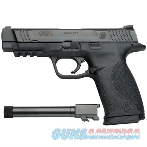 Smith & Wesson M&P 45 Semi Auto Pistol 45 Acp, 4.5 In, Poly Grp, 10+1 Rnd, Full Sz Blk Frame 150923  Guns > Pistols > S Misc Pistols