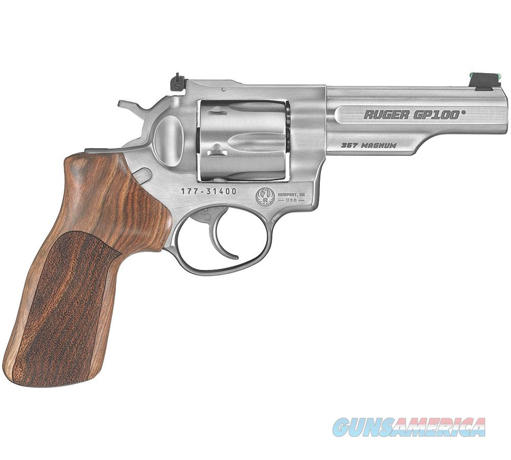 Ruger Gp100 Match Champion 357Mag 4.2 As Wood Grip 1755  Guns > Pistols > R Misc Pistols