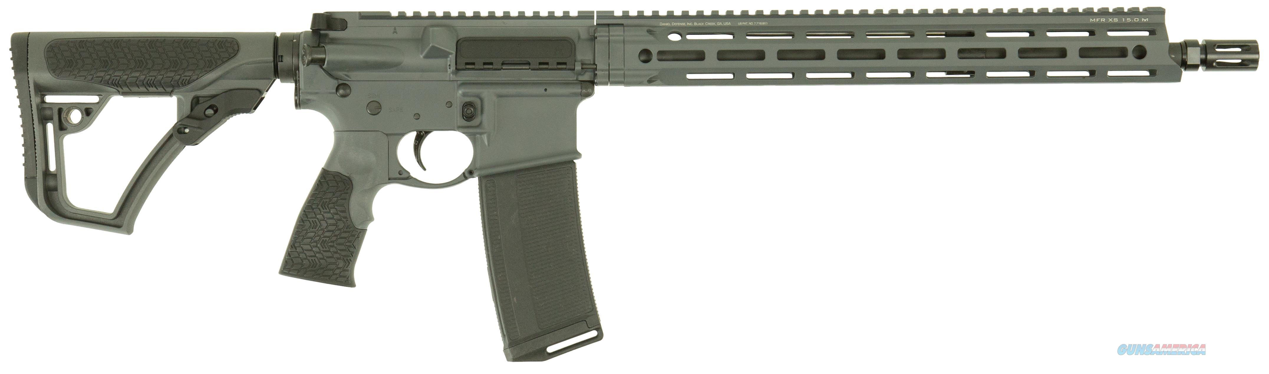 Daniel Defense Ddm4v7 Tornado 5.56 Nato 16Bbl Grey Mag 13042047  Guns > Rifles > D Misc Rifles