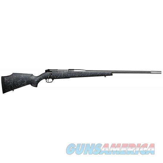 Weatherby Mark V 6.5-300Wby Rc Gry Blk Web Ss Fluted #3 MARM653WR6O  Guns > Rifles > W Misc Rifles