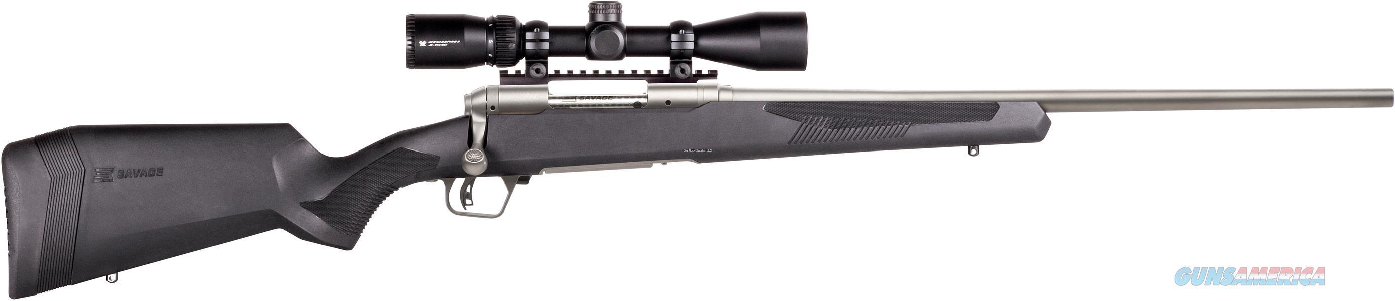 "Savage Arms 110 Apex Storm Xp, Bolt Action Rifle, .338 Win, 24"" Ss Bbl, Blk Syn Stock, Adjust Lop, Accu-Trig, Vortex 3-9X40 Scope 57355  Guns > Rifles > S Misc Rifles"