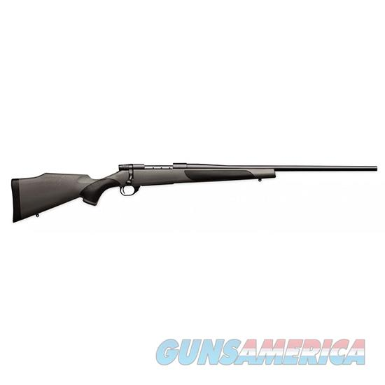 "Weatherby Vanguard Synthetic Bolt Rifle, 300 Win, 26"" Bbl, Blued, Black W/Grey Griptonite Stock VGT300NR6O  Guns > Rifles > W Misc Rifles"