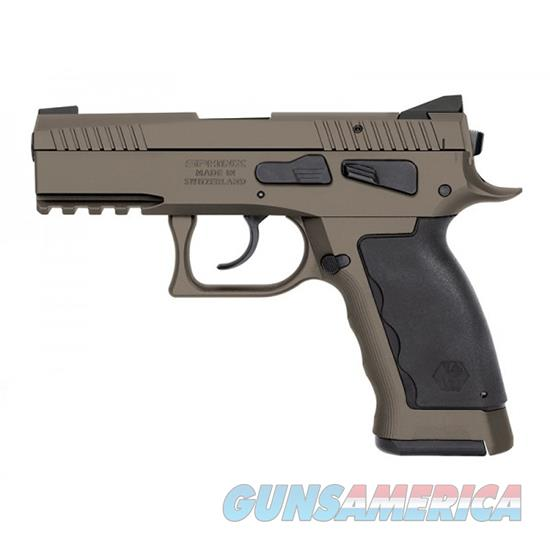 Kriss Usa, Inc Sphinx Sdp 9Mm Comp Sand Duty Dasa 17Rd S4WSDCME091  Guns > Pistols > K Misc Pistols