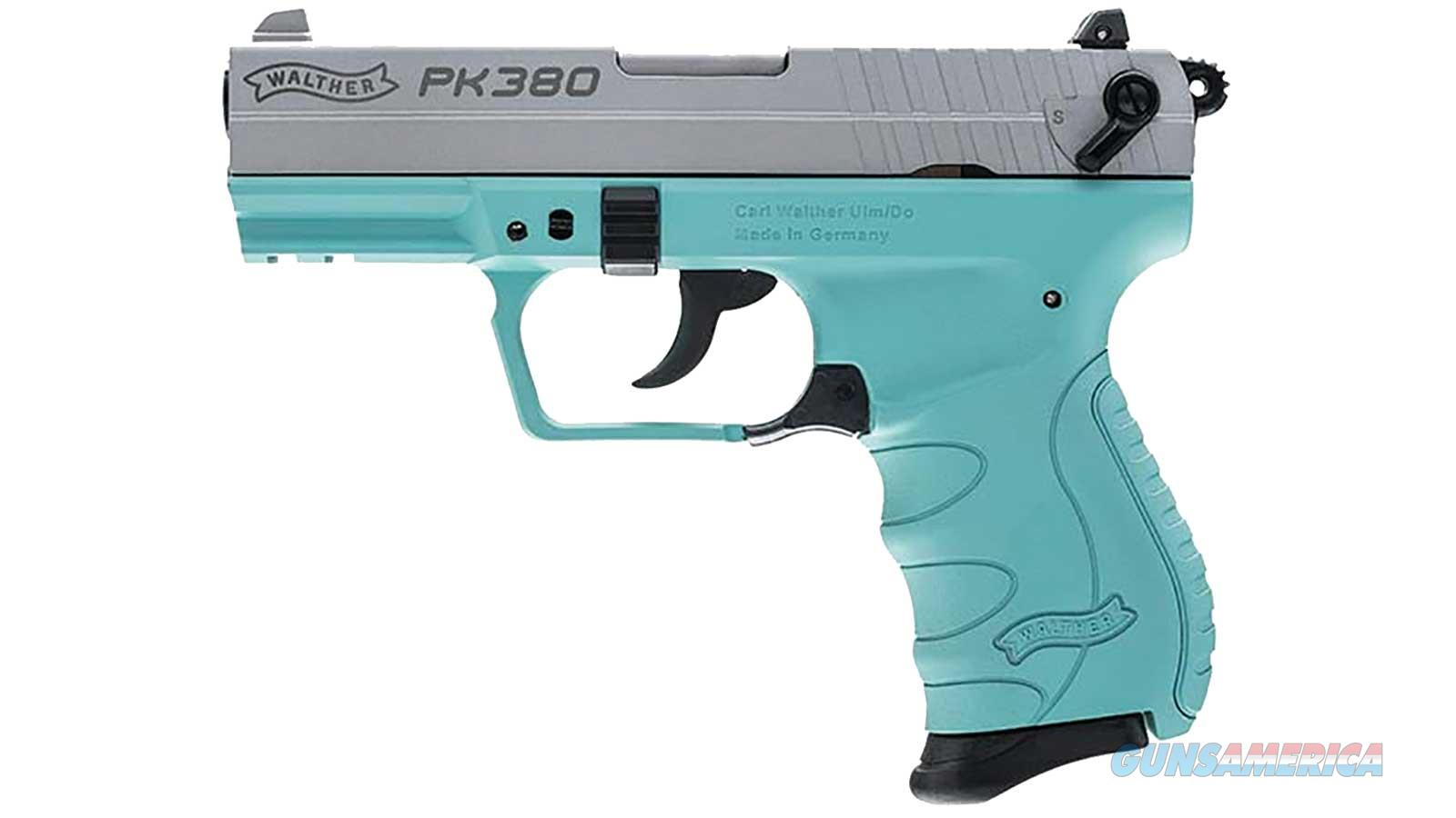 "WALTHER ARMS PK 380ACP 3.6"" 8RD DBL 5050325  Guns > Pistols > Walther Pistols > Post WWII > PK380"