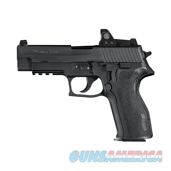 Sig Sauer P226 9Mm Dasa Blk Ns Mini Reflex Sight 2 15Rd E26R-9-BSS-RX  Guns > Pistols > S Misc Pistols