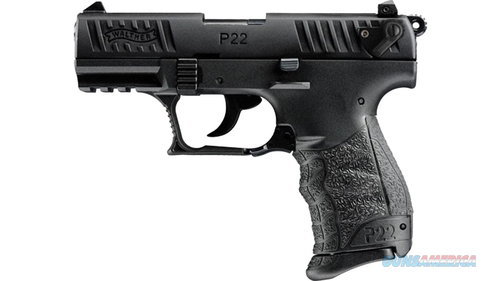 "Walther Arms P22qd 22Lr 3.42"" Blk 5120500  Guns > Pistols > W Misc Pistols"
