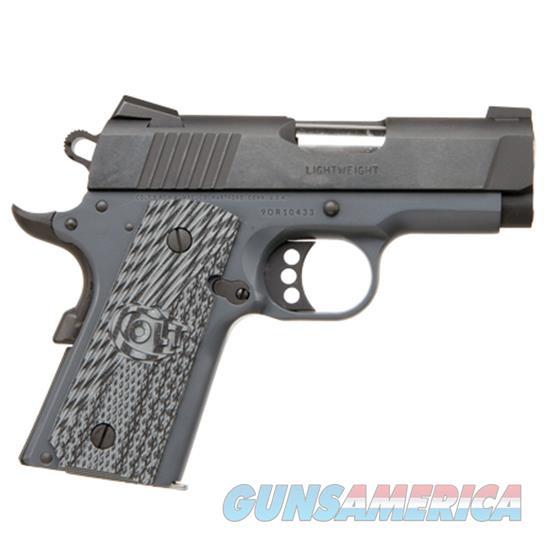 "Colt Defender .45Acp 3"" Combat Grame Frame Blued Slide Talo O7800XE-CG  Guns > Pistols > C Misc Pistols"