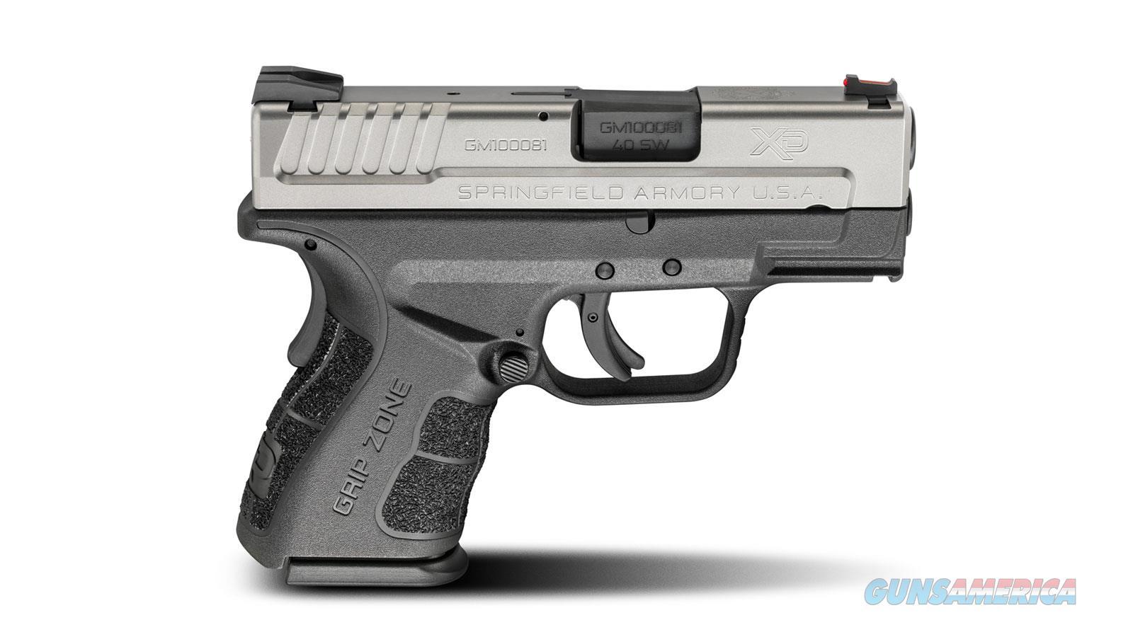 "Springfield Armory Xdg Mod.2 40Sw 3"" 12Rd XDG9822HC  Guns > Pistols > S Misc Pistols"