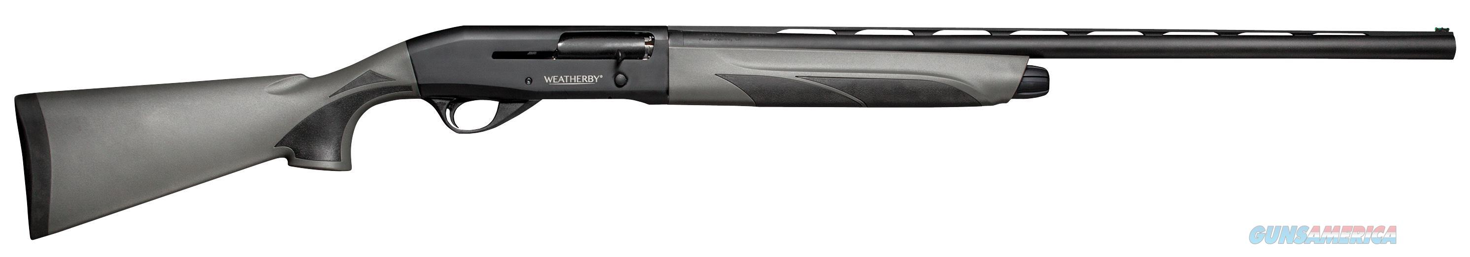 "Weatherby Esn1226pgm Element Semi-Automatic 12Ga 26"" 3"" Gray Synthetic Stk Blk ESN1226PGM  Guns > Shotguns > W Misc Shotguns"