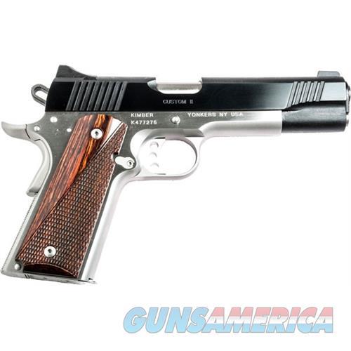 Kimber 45Acp Custom Ii 2-Tone KIM3200301  Guns > Pistols > K Misc Pistols
