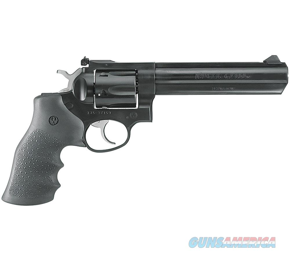 Ruger Da Revolver Gp100~ Standard 357 Mag 6''Bbl Blued 1704  Guns > Pistols > R Misc Pistols