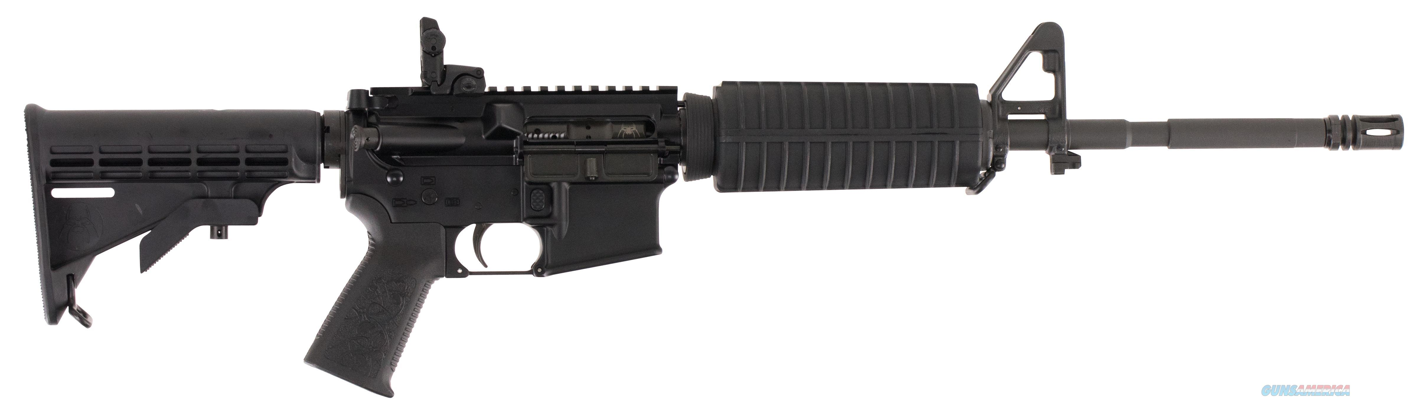 "Spikes Str5025m4s St-15 Le M4 Carbine With 12"" Bar2 Rail Semi-Automatic 223 Remington/5.56 Nato 16"" No Magazine 6-Position Black Stk Black Hard Coat Anodized STR5025-M4S  Guns > Rifles > S Misc Rifles"