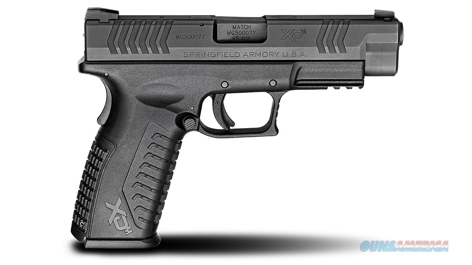 Springfield Armory Xdm 45Acp 4.5 Blk Essentials 14Rd XDM94545BHCE  Guns > Pistols > S Misc Pistols