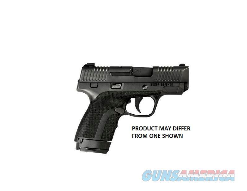 Honor Defense Guard Sub Compact 9Mm Fs 7-Shot Black Poly W/Ctc HG9SCCT  Guns > Pistols > H Misc Pistols