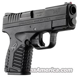 "Springfield Armory XDS93345B XDS Slim 45 ACP 3.3"" 5+1 Poly Grip Black FREE SHIPPING!!  Guns > Pistols > Springfield Armory Pistols > XD-S"