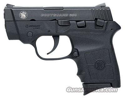 "S&W 109380 Bodyguard 380 ACP 2.75"" 6+1 w/Integral Laser Syn Grip Black Melo FREE SHIPPING!!  Guns > Pistols > Smith & Wesson Pistols - Autos > Polymer Frame"