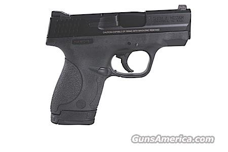 "S&W 180020 M&P Shield 40 S&W 3.1"" 6+1/7+1 Syn Grip Black FREE SHIPPING!!  Guns > Pistols > Smith & Wesson Pistols - Autos > Shield"