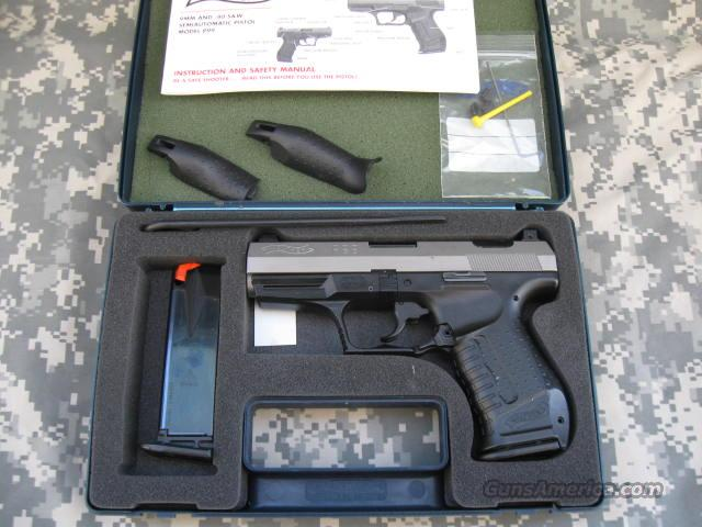 walther p99 40cal two tone for sale walther cp99 compact user manual Walther PPS