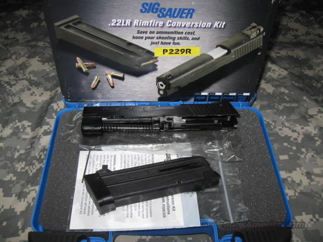 SIG SAUER 22LR CONVERSION KIT FOR P229 PISTOL WITH RAIL  Non-Guns > Miscellaneous