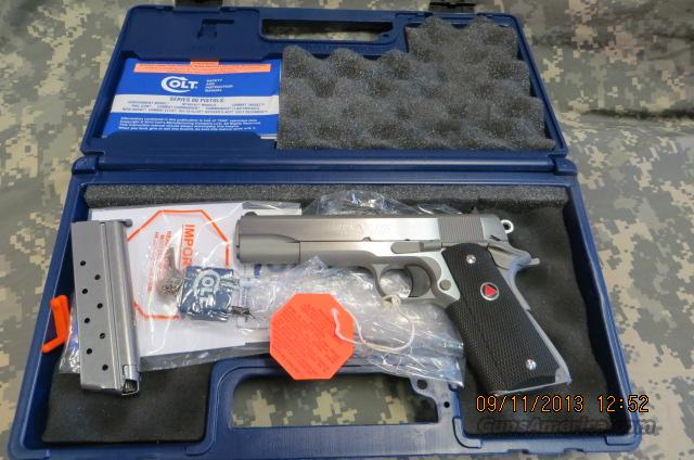 COLT DELTA ELITE STAINLESS 10MM  Guns > Pistols > Colt Automatic Pistols (1911 & Var)