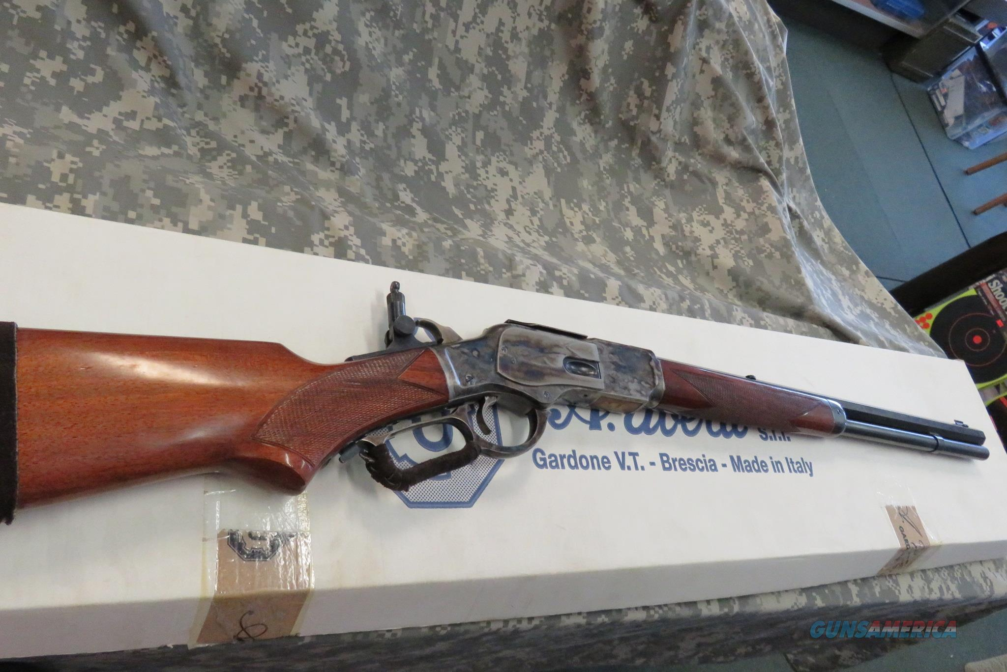 "EMF/UBERTI 1873 DELUXE BORDER RIFLE 20"" 45LC **TUNED/SHORT STROKED**  Guns > Rifles > Uberti Rifles > Lever Action"