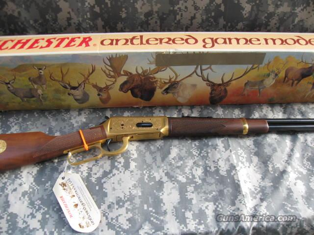 WINCHESTER 94 ANTLERED GAME 30-30  Guns > Rifles > Winchester Rifle Commemoratives