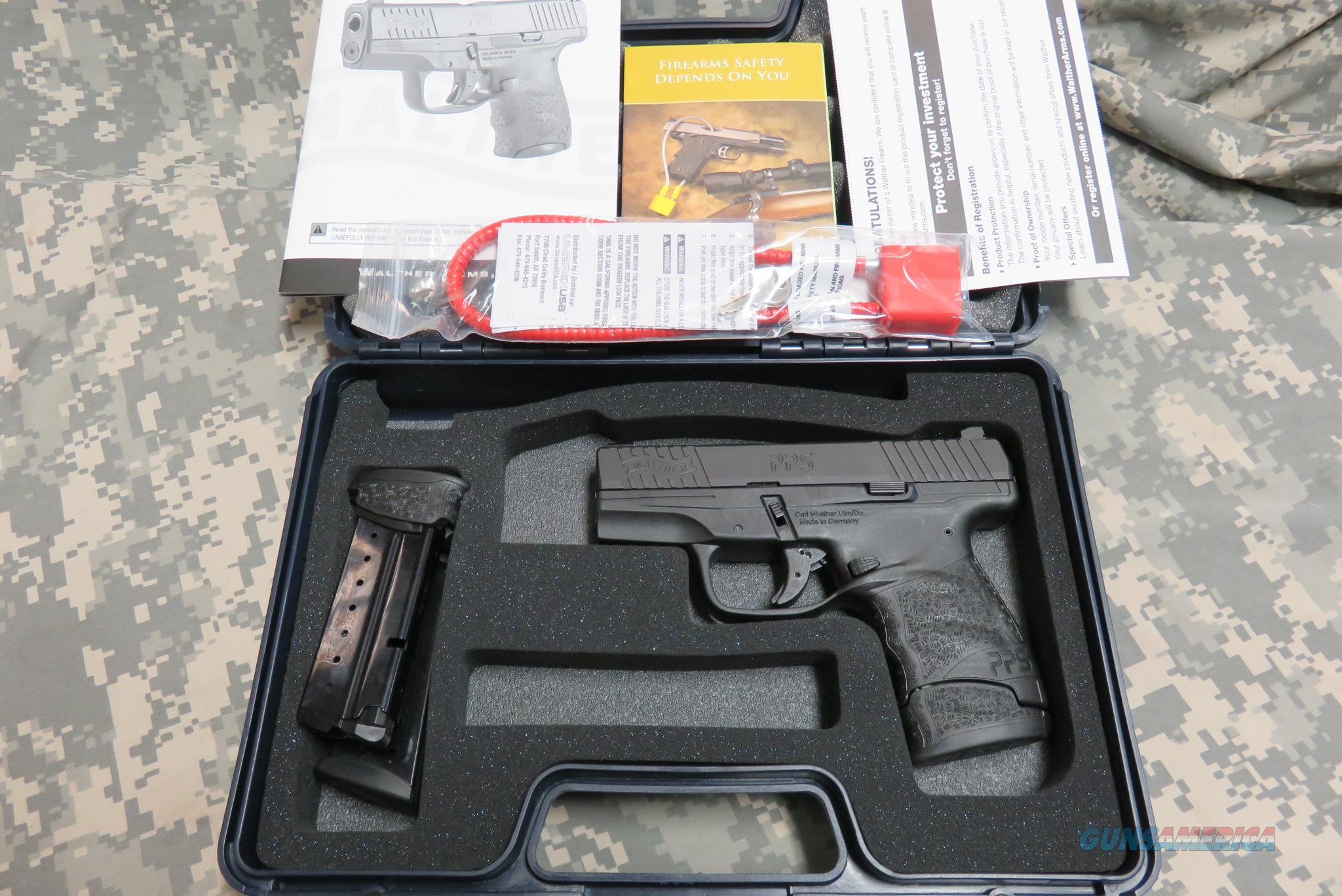 WALTHER PPS M2 9MM, NIGHT SIGHTS, 3 MAGS  Guns > Pistols > Walther Pistols > Post WWII > PPS