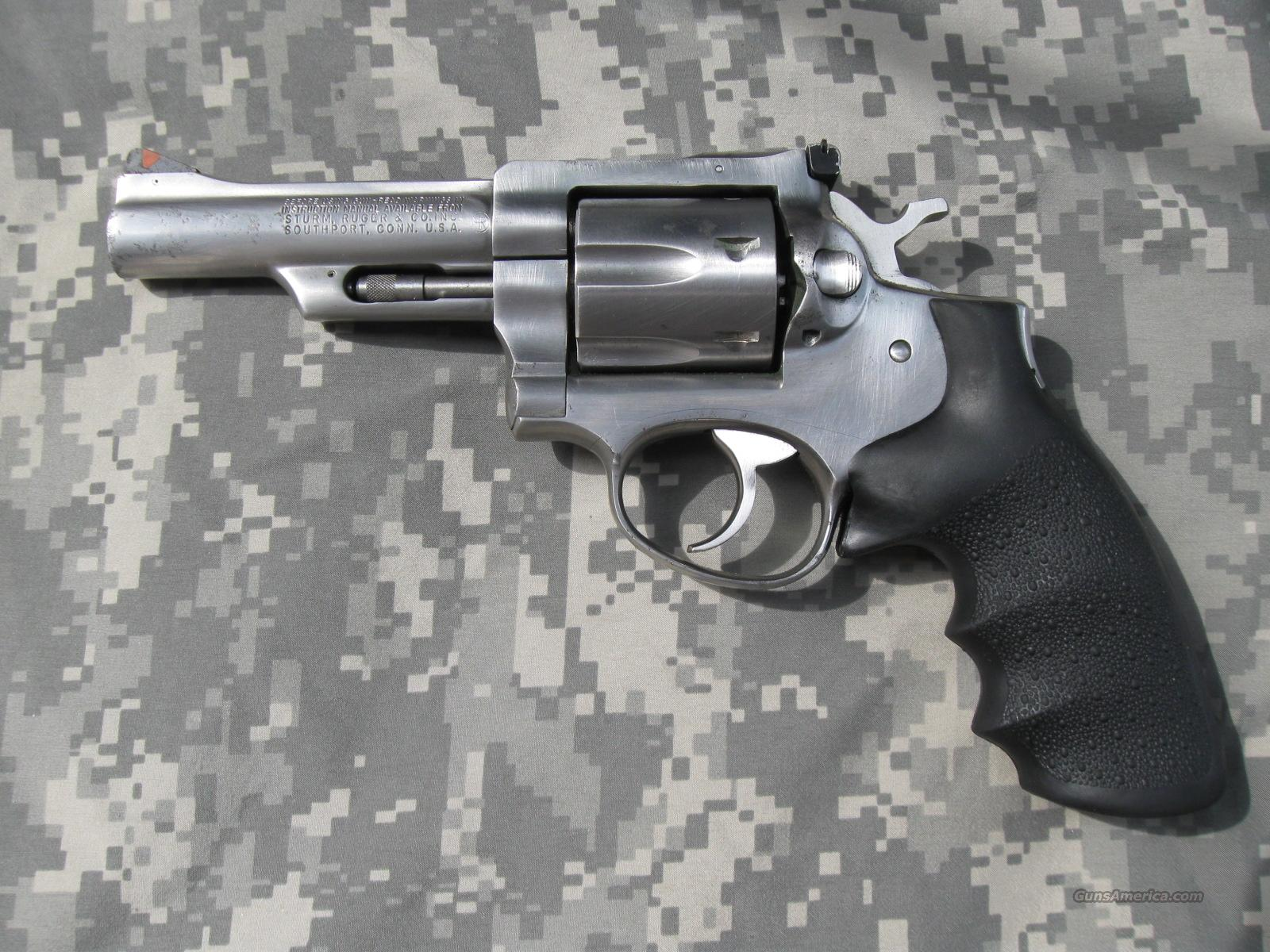 "RUGER SECURITY SIX 4"" STAINLESS 357 MAG  Guns > Pistols > Ruger Double Action Revolver > Security Six Type"