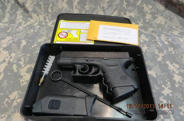 GLOCK 26 9MM WITH INTERNAL LASERMAX  Guns > Pistols > Glock Pistols > 26/27