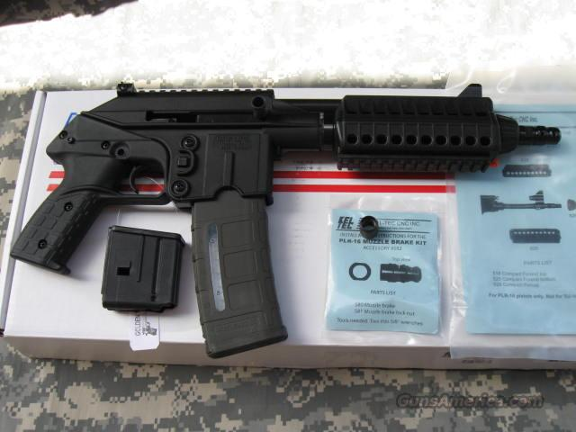 KELTEC PLR-16 223 PISTOL WITH ACCESSORIES  Guns > Pistols > Kel-Tec Pistols > .223 Type