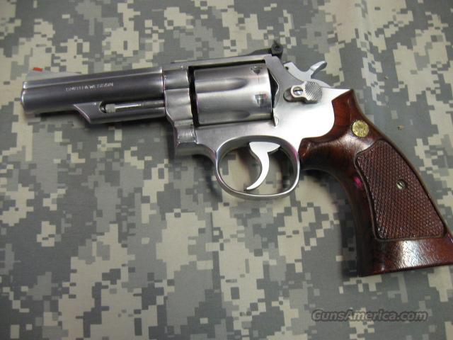 "SMITH & WESSON MODEL 66-1 4"" STAINLESS 357 MAGNUM  Guns > Pistols > Smith & Wesson Revolvers > Full Frame Revolver"