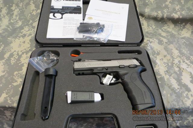 TAURUS PT845 45ACP STAINLESS 12RD MAGS  Guns > Pistols > Taurus Pistols/Revolvers > Pistols > Polymer Frame