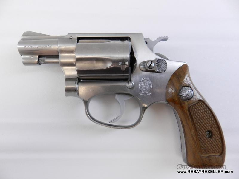 "Smith & Wesson Model 60 .38 Special Stainless 2"" Revolver  Guns > Pistols > Smith & Wesson Revolvers > Full Frame Revolver"