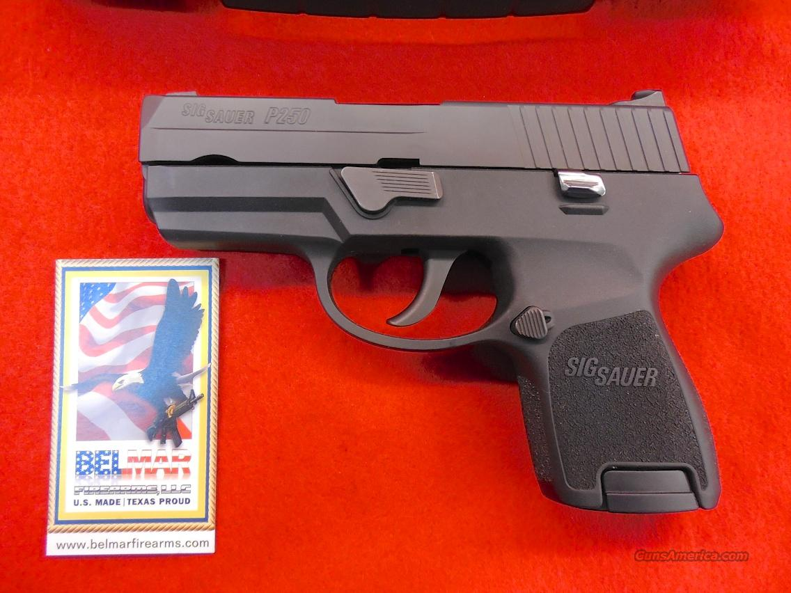 SIG SAUER P250 9 mm SUBCOMPACT  Guns > Pistols > Sig - Sauer/Sigarms Pistols > P250