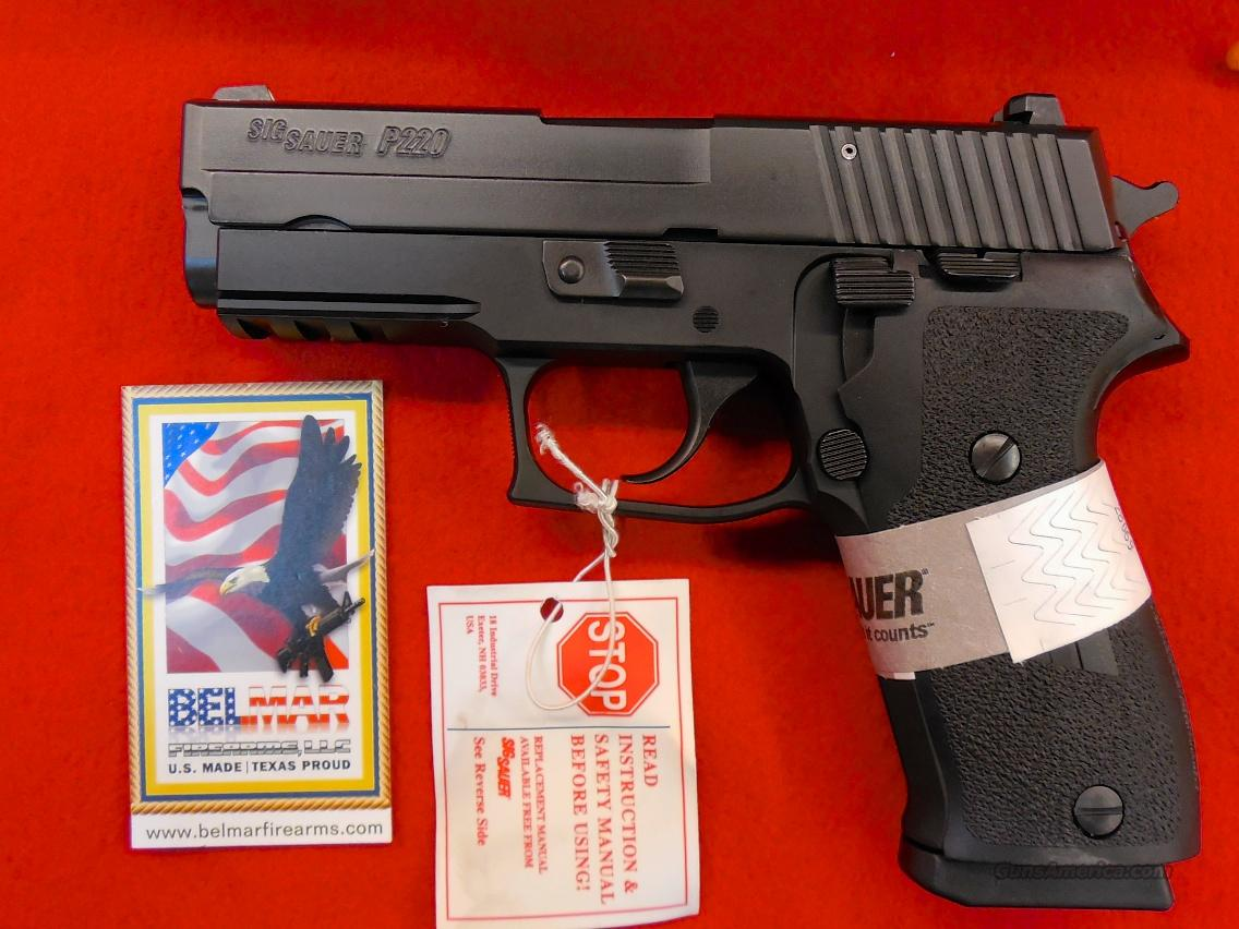 SIG SAUER P220 R3 Carry Black 45 ACP 8RD   Guns > Pistols > Sig - Sauer/Sigarms Pistols > P220