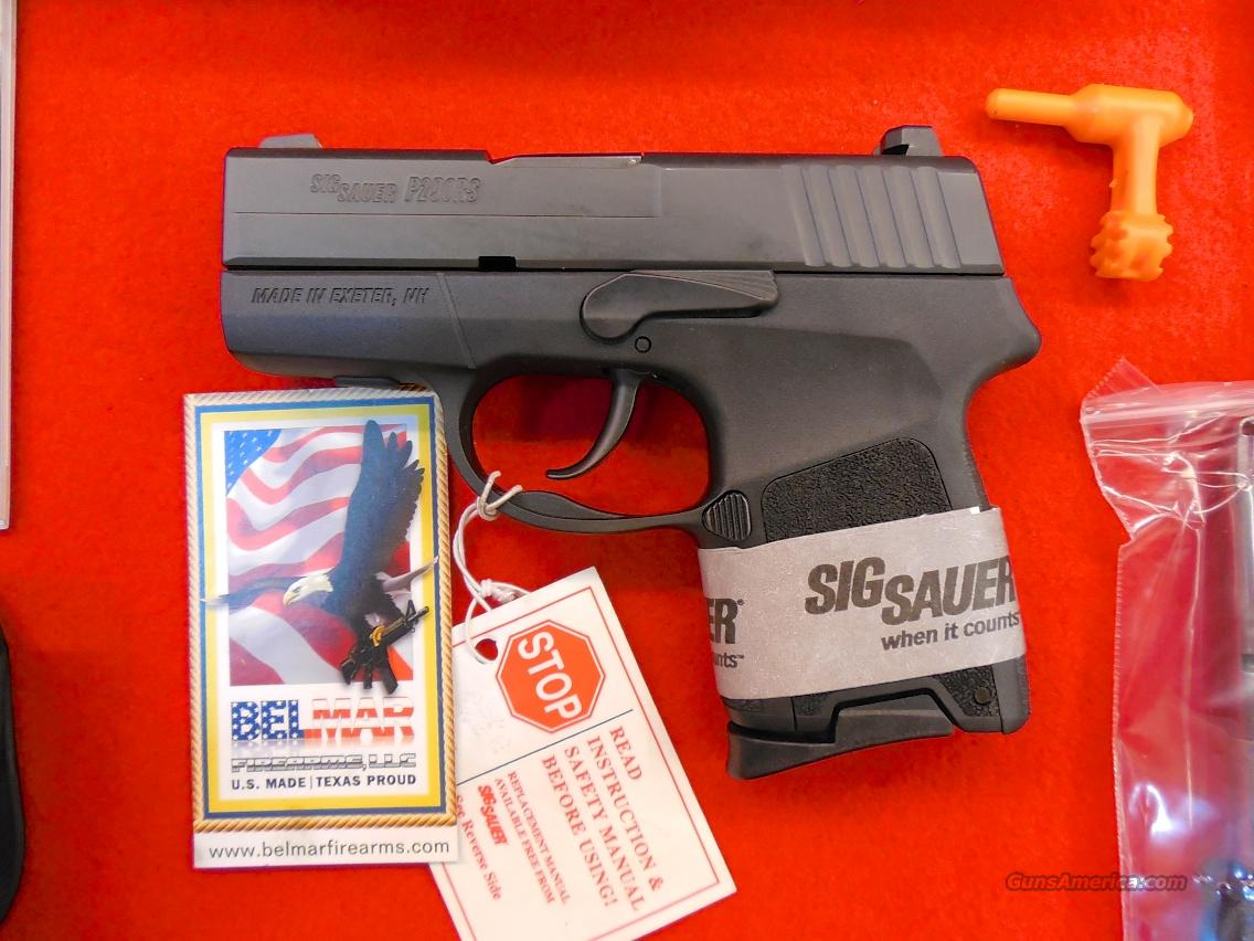 Sig Sauer P290RS Restrike Design 9 mm 6&8 rd SubCompact  Guns > Pistols > Sig - Sauer/Sigarms Pistols > P290