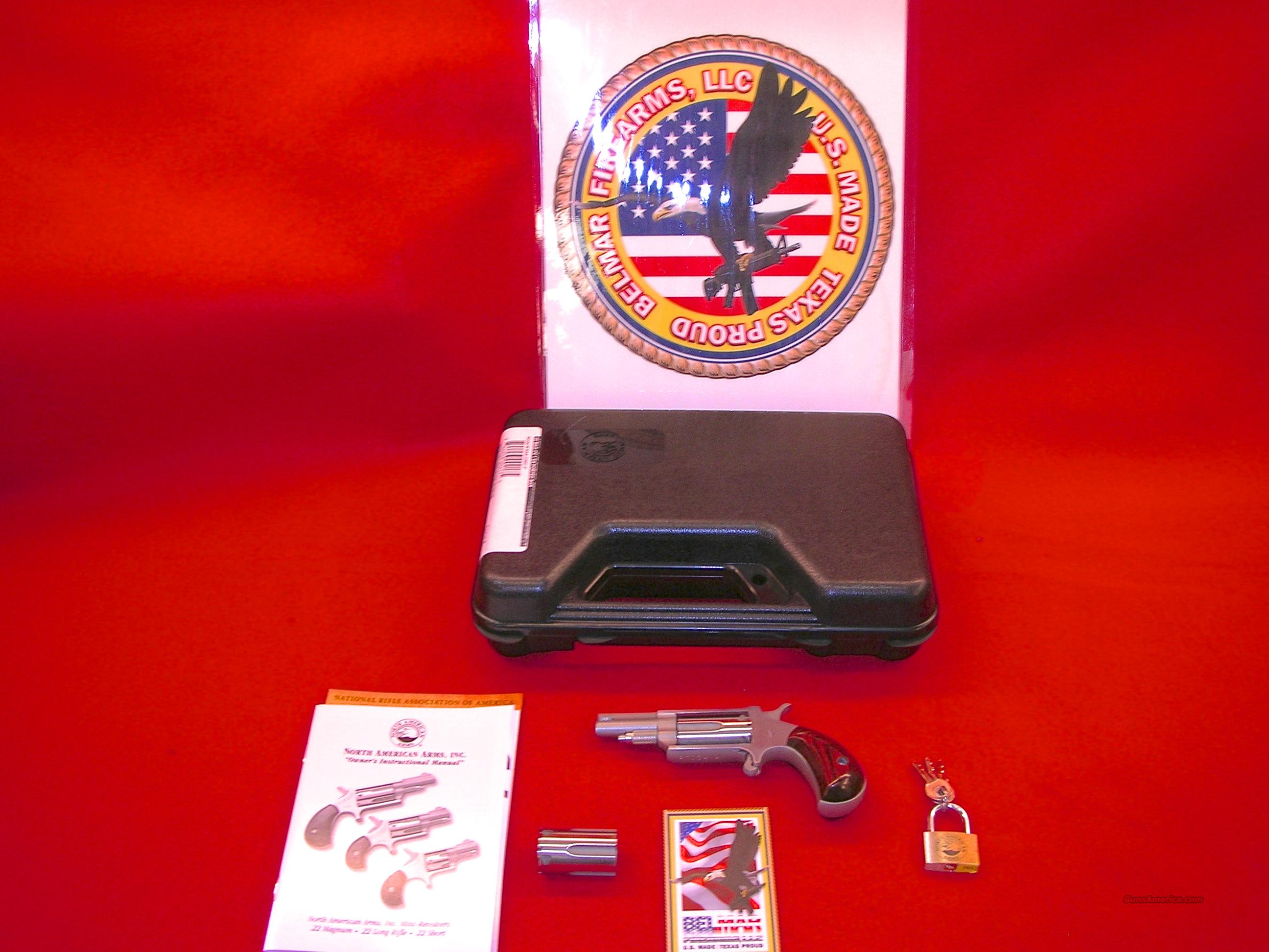 North American Arms 22 Mag/LR 1 5/8 Ported Barrel With Conv CYL  Guns > Pistols > North American Arms Pistols