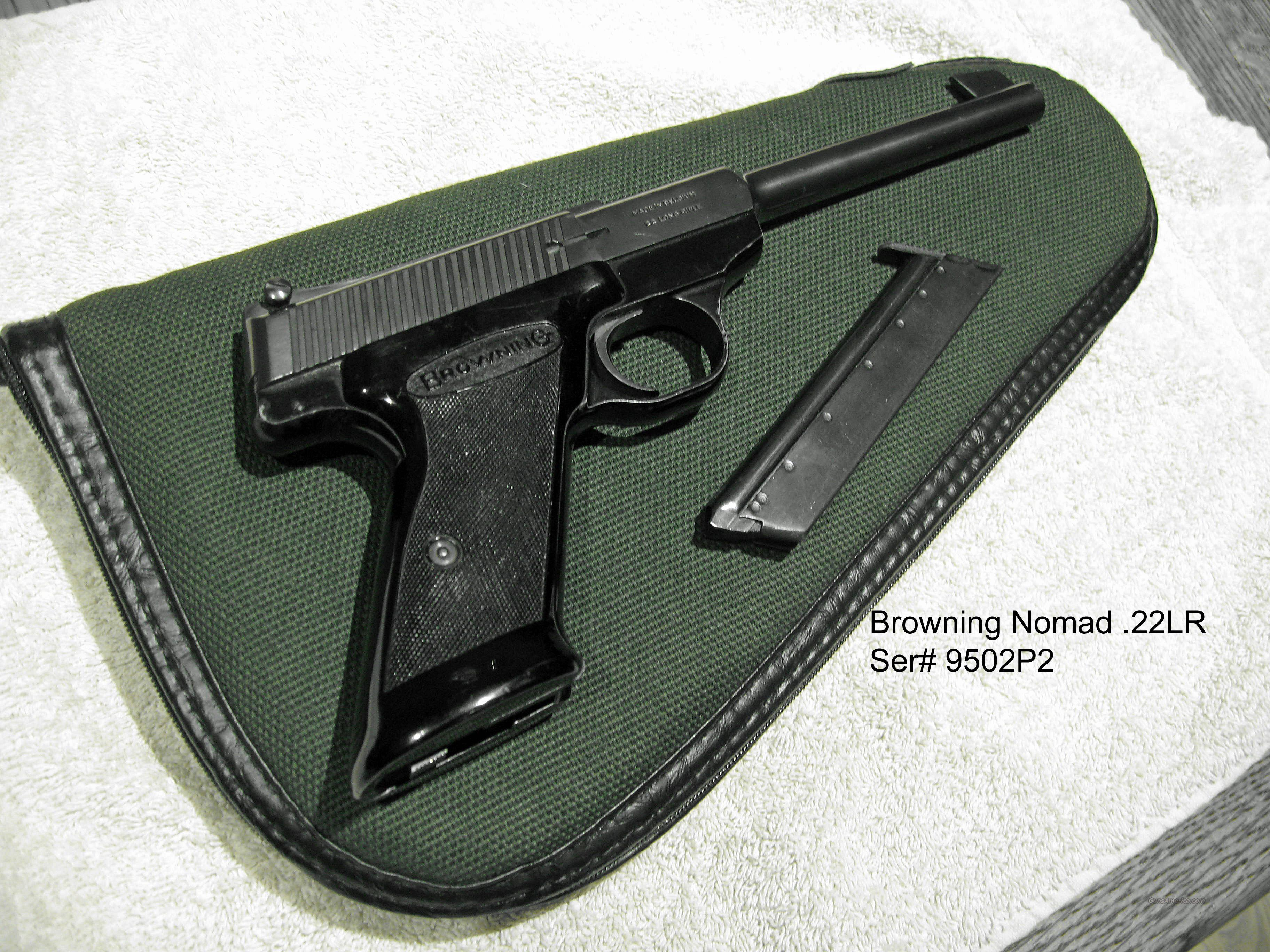 Browning Nomad .22LR Pistol  Guns > Pistols > Browning Pistols > Other Autos