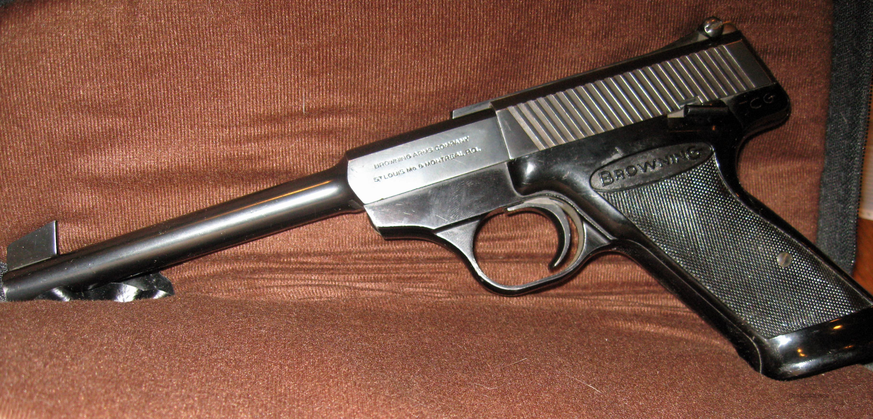 Browning Nomad 22lr Pistol For Sale