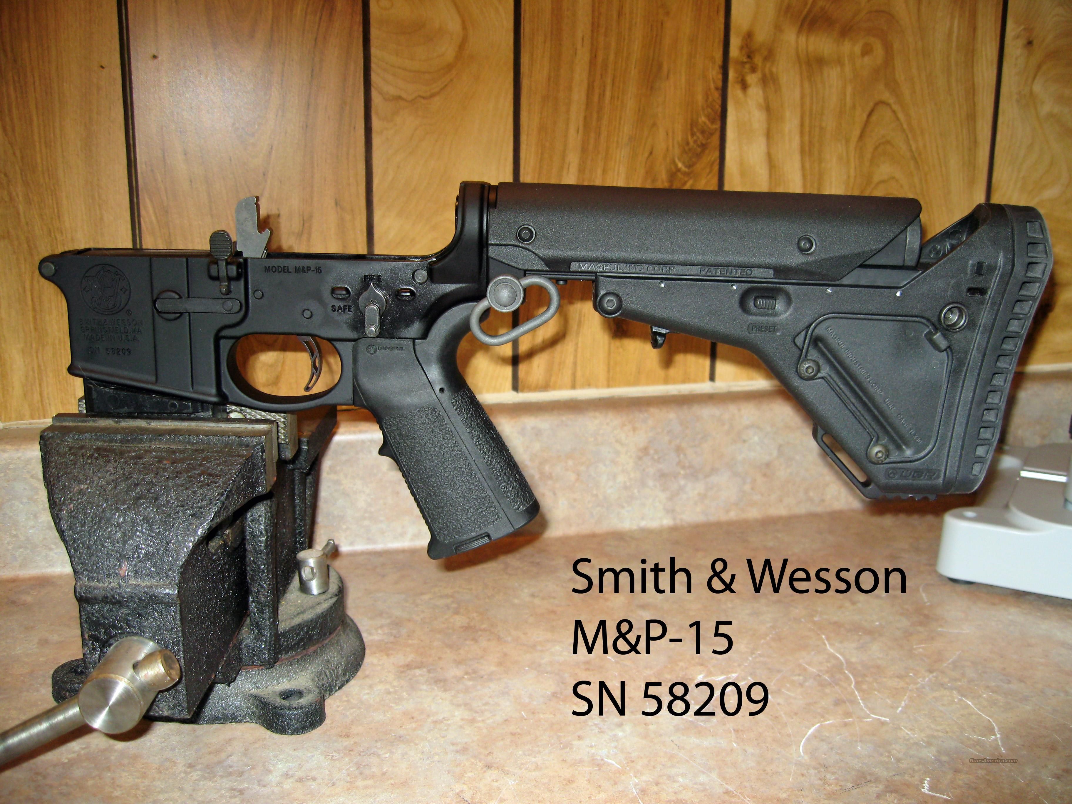 S&W M&P-15 - .223 AR Custom  Lower Complete  Guns > Rifles > AR-15 Rifles - Small Manufacturers > Lower Only