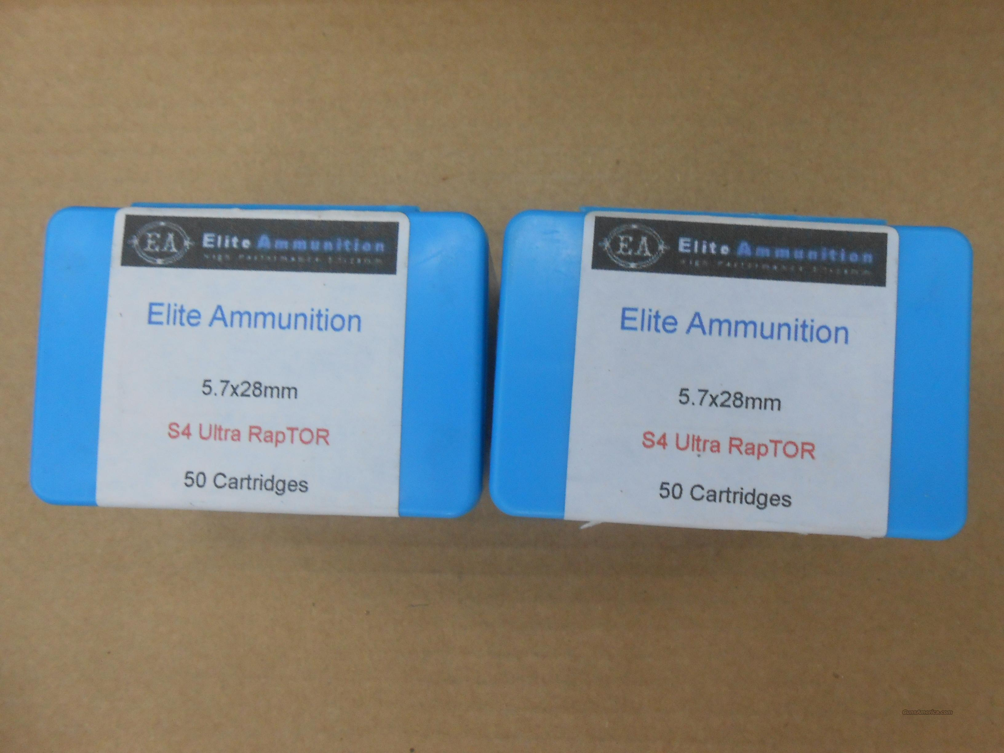 ELITE AMMUNITION 5.7X28  Non-Guns > Ammunition