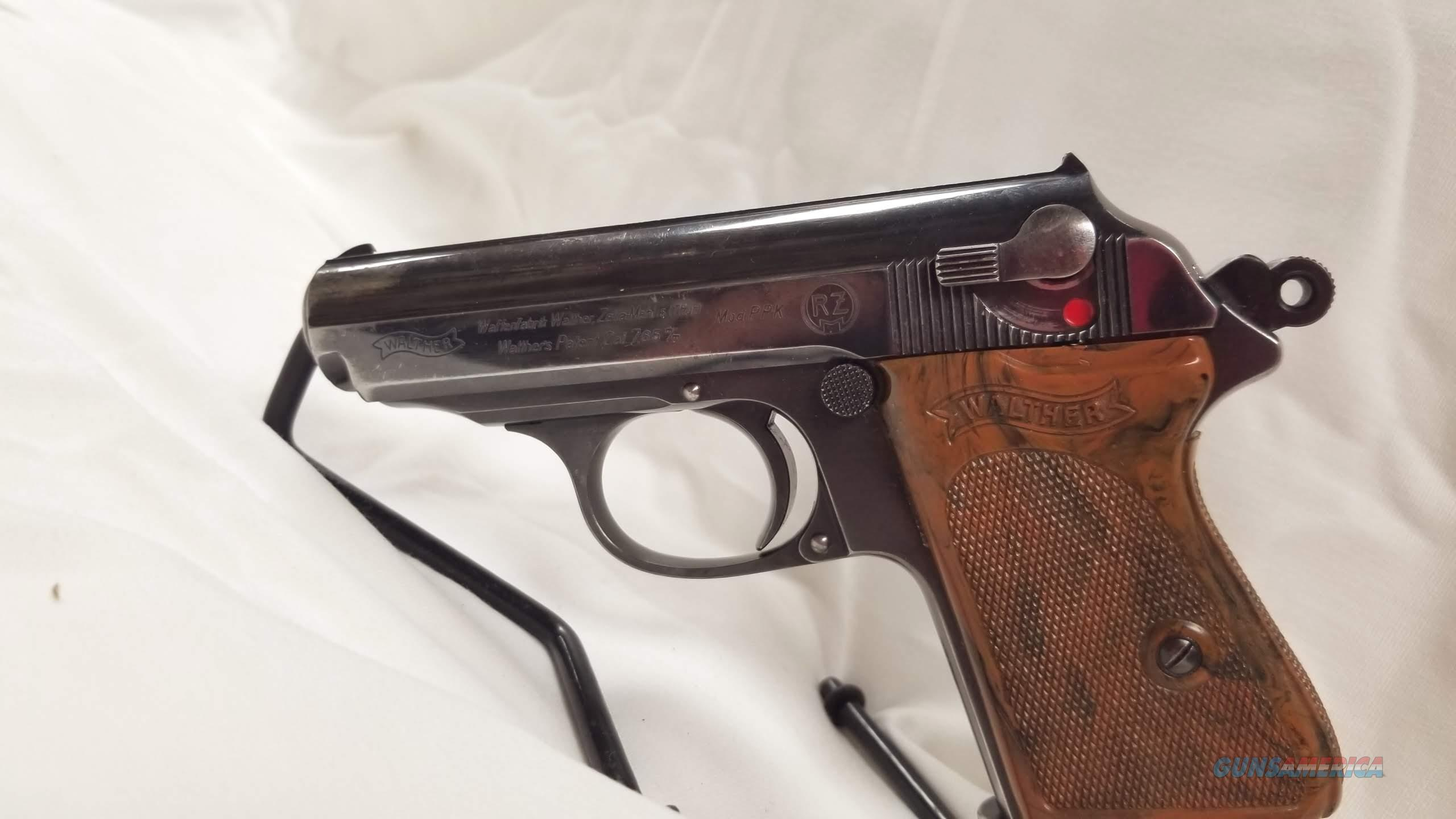 Walther PPK 7.62 RZM Stamped (Very Rare)  Guns > Pistols > Walther Pistols > Pre-1945 > PPK